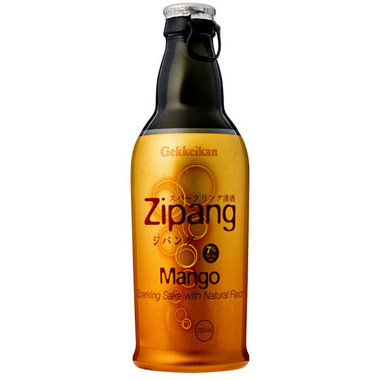 Gekkeikan Zipang Mango Sparkling Sake (Japan) 250ml