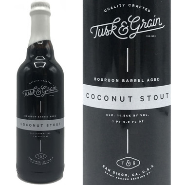 Saint Archer Tusk & Grain Bourbon Barrel Aged Coconut Stout 500ml