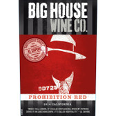 Big House California Prohibition Red Wine