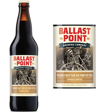 Ballast Point Peanut Butter Victory At Sea Imperial Porter 22oz