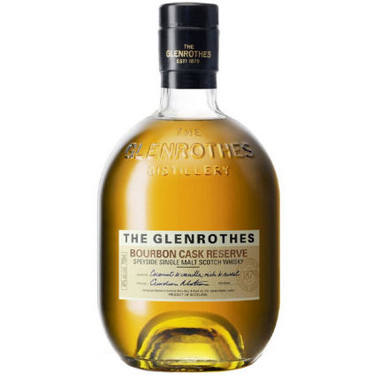 The Glenrothes Bourbon Cask Reserve Speyside 750ml