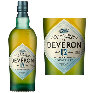 The Deveron 12 Year Old Highland Single Malt Scotch 750ml
