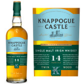 Knappogue Castle Non-Chill Filtered 14 Year Old Single Malt Irish Whiskey 750ml