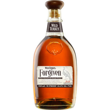 Wild Turkey Forgiven Blend of Bourbon and Rye Straight Whiskey 750ml