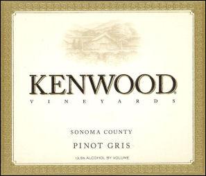 Kenwood Sonoma Pinot Gris