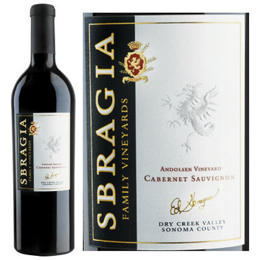 Sbragia Family Andolsen Vineyard Dry Creek Cabernet