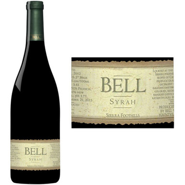 Bell Cellars Canterbury Vineyard Syrah