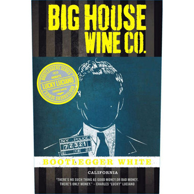 Big House Lucky Luciano Bootlegger White Blend