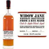 Widow Jane Oak & Applewood Aged Rye Mash Whiskey 750ml