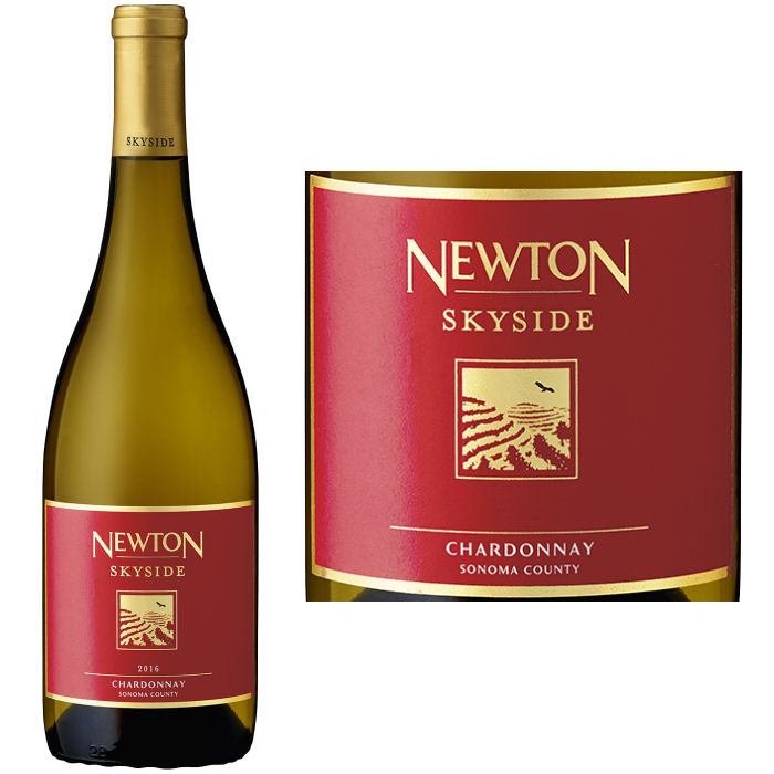 newton skyside red label sonoma chardonnay