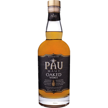 PAU Maui Oaked Hawaiian Vodka 750ml