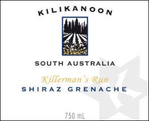 Kilikanoon Killerman's Run Shiraz-Grenache