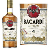 Bacardi 4 Year Old Anejo Rum 750ml