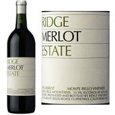Ridge Estate Monte Bello Vineyard Merlot