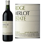 Ridge Estate Monte Bello Vineyard Merlot