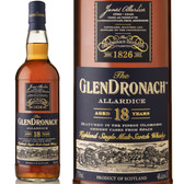 The Glendronach Allardice 18 Year Old Highland Scotch Whiskey 750ml