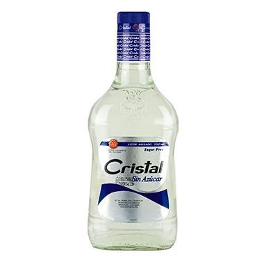 Aguardiente Cristal Sin Azucar Colombian Liqueur 750ml