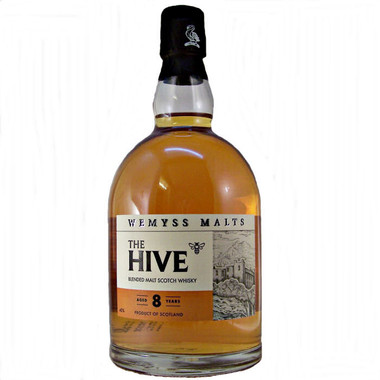 Wemyss THE HIVE 8 Year Old Blended Malt Scotch 750ml