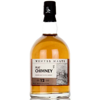 Wemyss PEAT CHIMNEY 12 Year Old Blended Malt Scotch 750ml