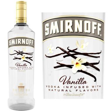 Smirnoff Vanilla Vodka 750ml