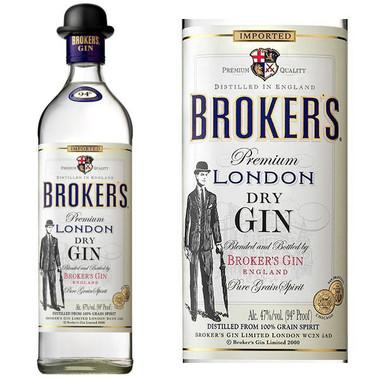 Broker's London Dry Gin 1L