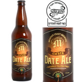 Meadan Craft Brewing Gluten Free Amber Date Ale 22oz Kosher