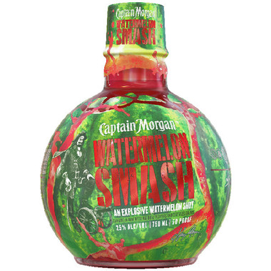 Captain Morgan Watermelon Smash Rum 750ml