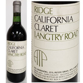 Ridge Langtry Road Spring Mountain Claret
