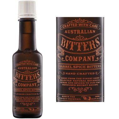 Australian Bitters Company Barrel Spice Bitters 4oz