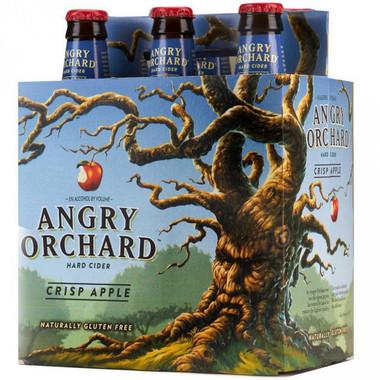 Angry Orchard Crisp Apple Hard Cider 12oz 6 Pack