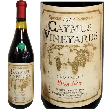 Caymus Special Selection Napa Pinot Noir