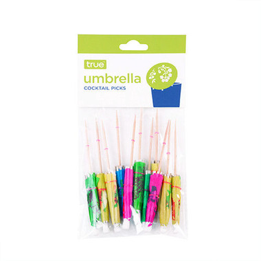 True Umbrella Cocktail Appetizer Picks