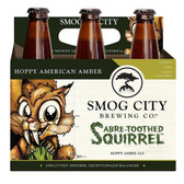 Smog City Sabre-Toothed Squirrel Amber Ale 12oz 6 Pack