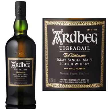Ardbeg Uigeadail Islay Single Malt Scotch 750ml