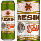 Sixpoint Brewing Resin Imperial IPA 12oz 6 Pack Cans