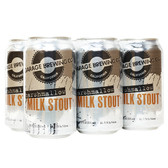 Garage Brewing Mashmallow Milk Stout 12oz 6 Pack Cans