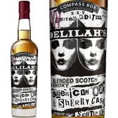 Compass Box Delilah's XXV Blended Scotch Whisky 750ml
