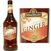 Hiram Walker Ginger Flavored Brandy US 1L