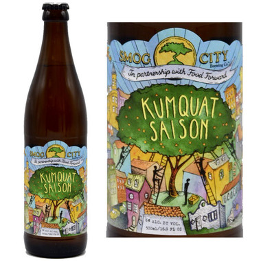 Smog City Kumquat Saison Style Ale 500ml