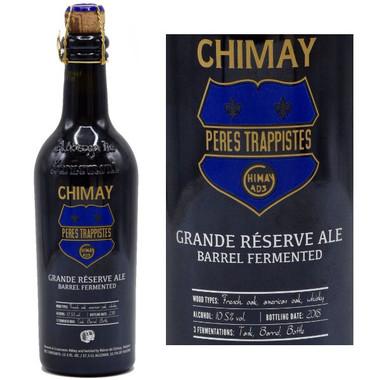 Chimay Grande Reserve Whiskey Barrel Aged Dark Ale 375ml (Belgium)