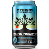 2 Towns Pacific Pineapple Unfiltered Cider 6 Pack