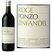Ridge York Ponzo Russian River Zinfandel