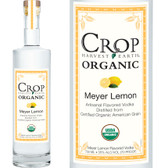 Crop Organic Meyer Lemon Flavored Grain Vodka 750ML