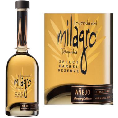 Milagro Select Barrel Reserve Anejo 750ml