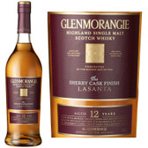 Glenmorangie Lasanta 12 Year Old Single Malt Scotch 750ml