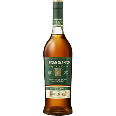 Glenmorangie The Quinta Ruban 12 Year Old Single Malt Scotch 750ml