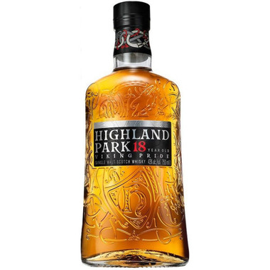 Highland Park 18 Year Old Orkney Island Single Malt Scotch 750ml