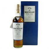 Macallan 30 Year Old Fine Oak Highland Single Malt Scotch 750ml Rated 96-100WE