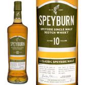 Speyburn 10 Year Old Speyside 750ml
