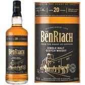 BenRiach 20 Year Old Speyside Single Malt Scotch 750ml